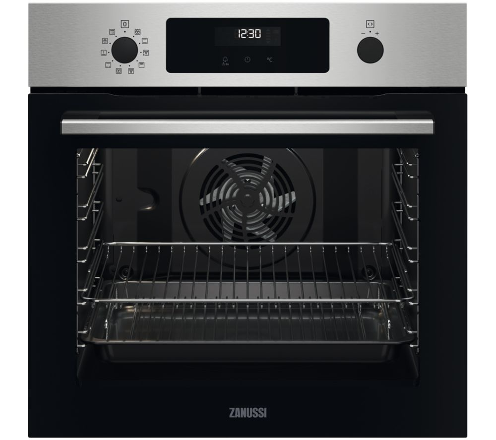 Image of ZANUSSI SelfClean ZOPNX6X2 Electric Oven - Stainless Steel, Stainless Steel