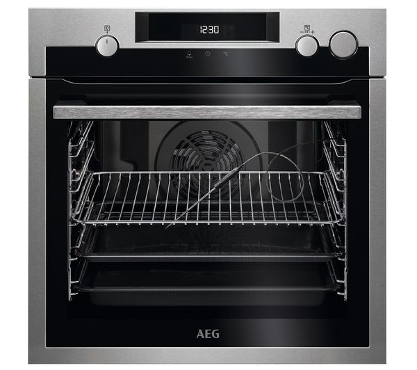 AEG SteamCrisp BSE577221M Electric Steam Oven - Stainless Steel