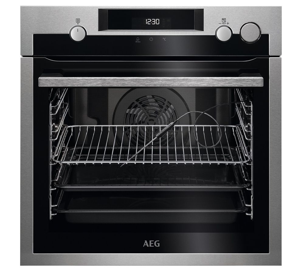 AEG SteamCrisp BSE577221M Electric Steam Oven – Stainless Steel, Stainless Steel