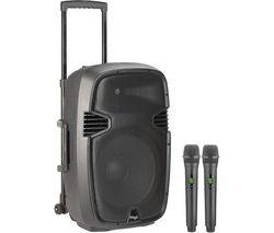 Re-volt12U Portable Speaker with Wireless Microphones