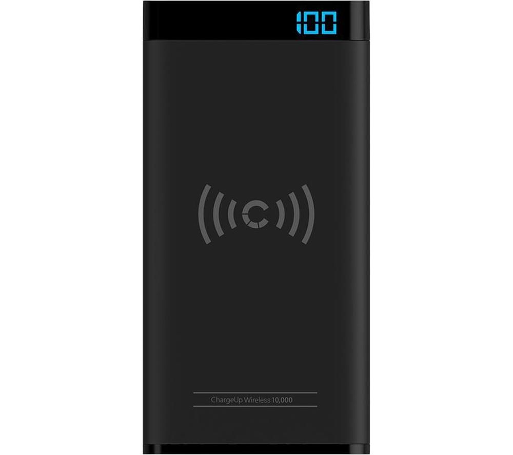 CYGNETT ChargeUp Swift Wireless Portable Power Bank - Black