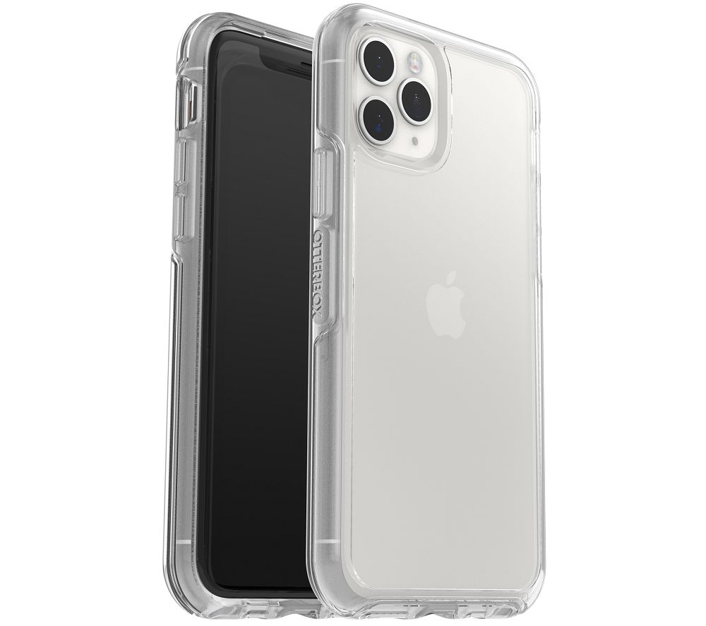 OTTERBOX Symmetry iPhone 11 Pro Max Case & Alpha Glass Screen Protector Bundle