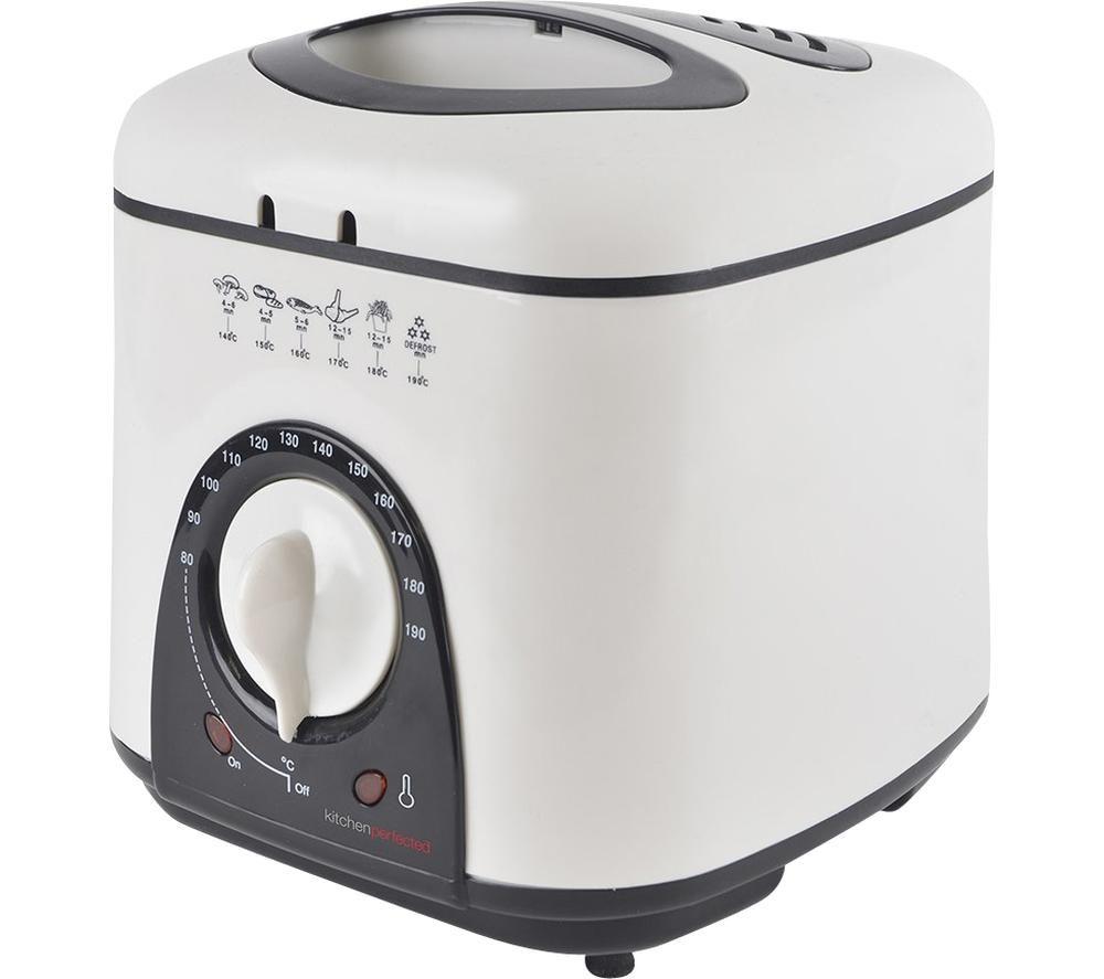 LLOYTRON KitchenPerfected E6010WI Deep Fryer - White