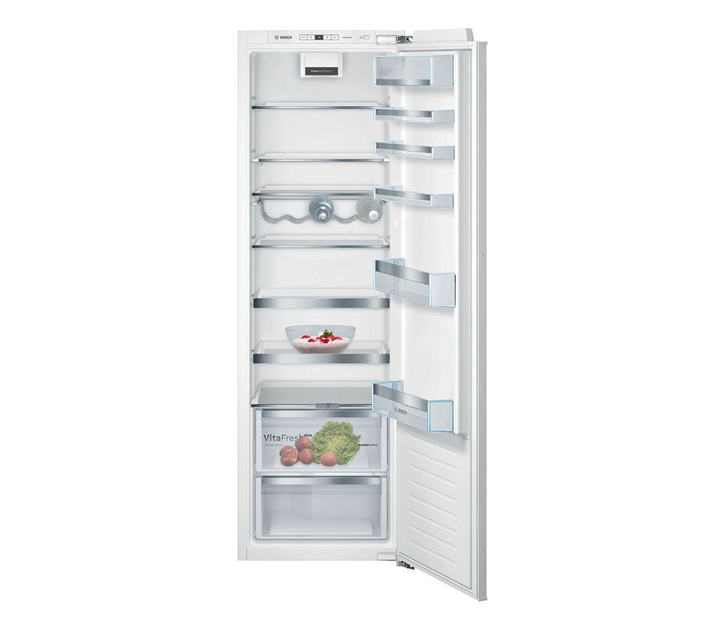 BOSCH KIR81AFE0G Integrated Tall Fridge - Fixed Hinge