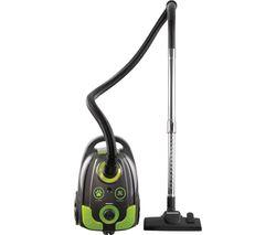 Tornado FLR00047 Cylinder Vacuum Cleaner - Grey & Green