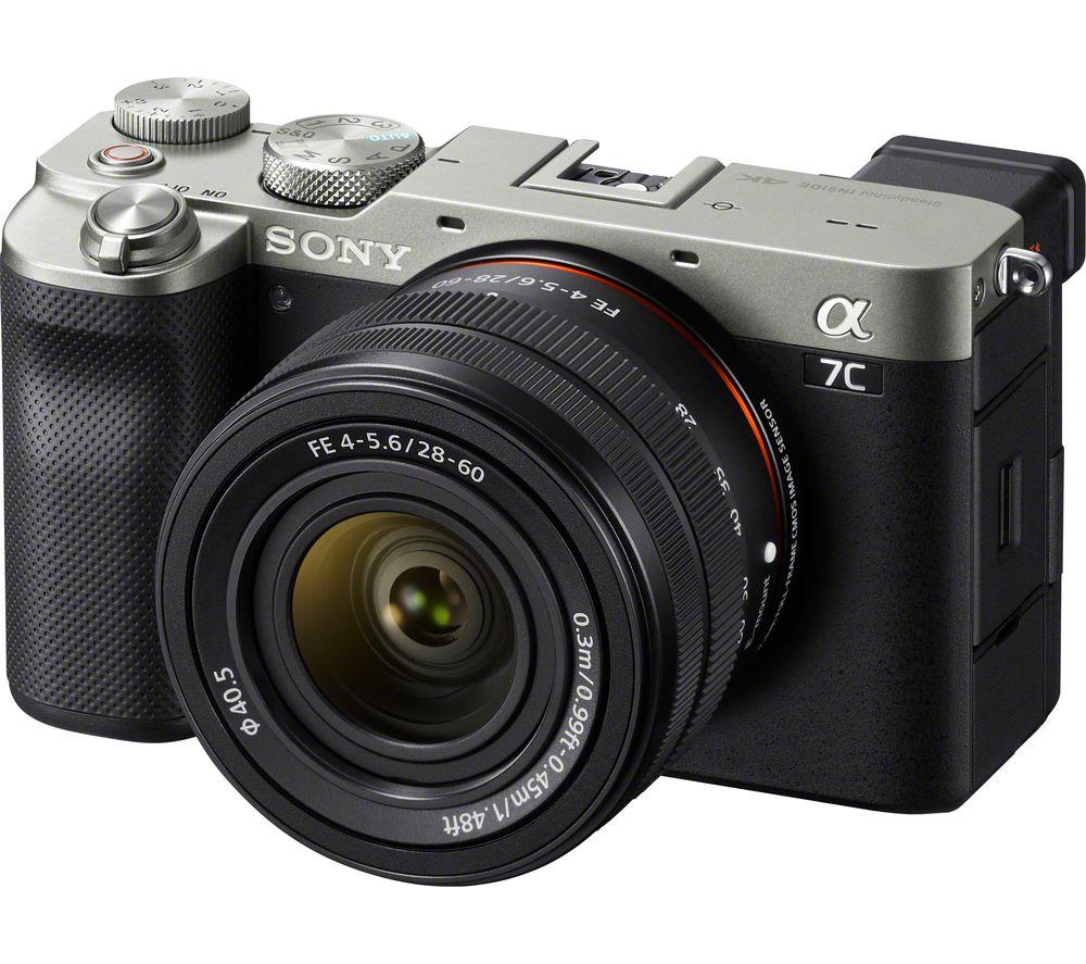 Sony Alpha7sil Lens Silver