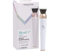 BlendUp Vibra-Sonic Make-up Blending Brush - White