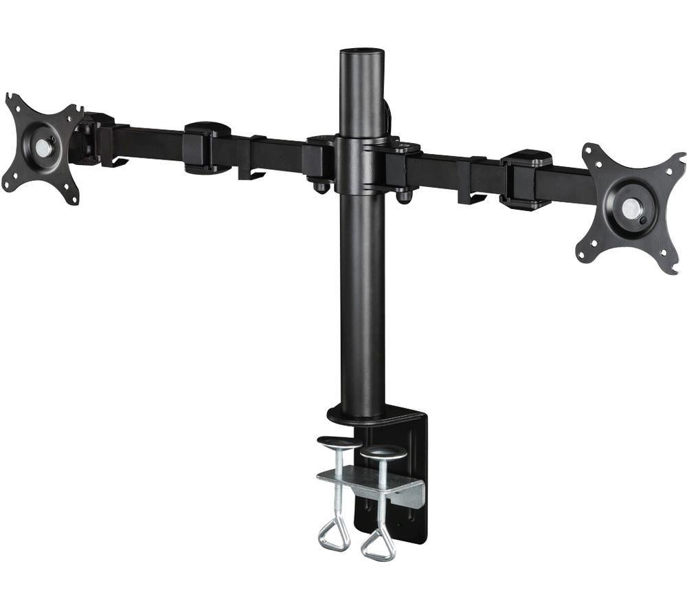 "Image of HAMA 95830 Dual Arm Full Motion 10-26"" Monitor Desk Mount"