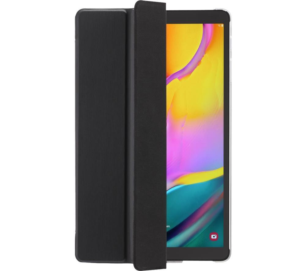 """HAMA Essential Fold Clear 10.4"""" Samsung Galaxy Tab A7 Case - Black"""