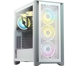 4000D AIRFLOW Tempered Glass ATX Mid-Tower PC Case - White