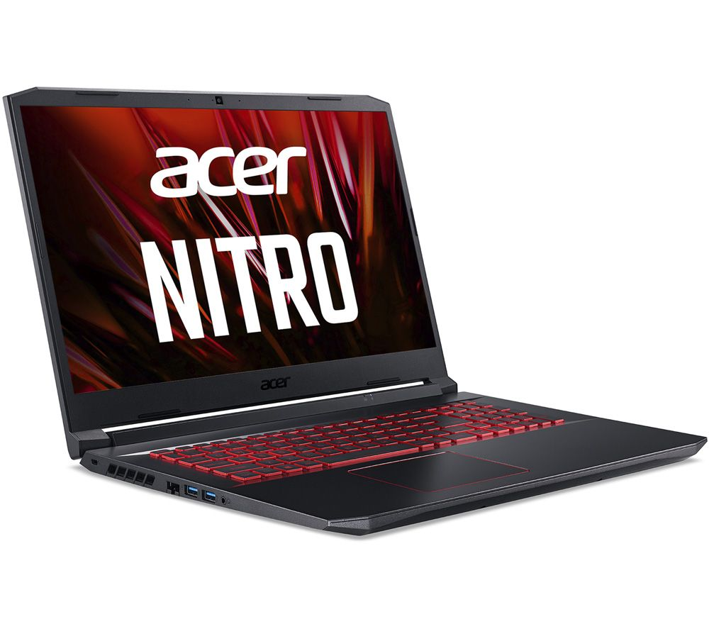 "Image of ACER Nitro 5 17.3"" Gaming Laptop - Intel®Core i5, GTX 1650, 256 GB SSD"