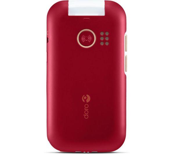 Doro 7080 - 4 GB, Red 2