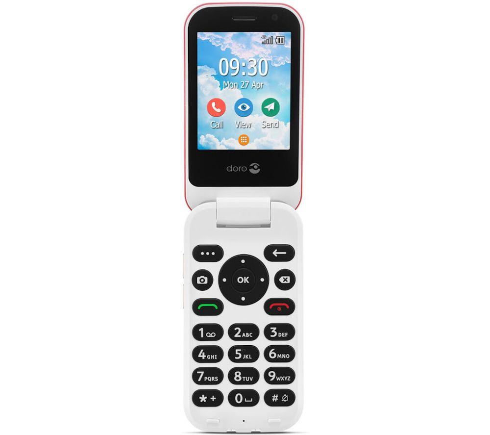 Doro 7080 - 4 GB, Red 0