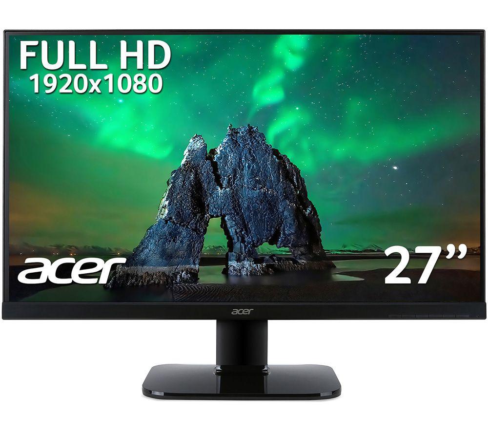 Acer KA270HAbid Full HD 27inch LED Monitor - Black