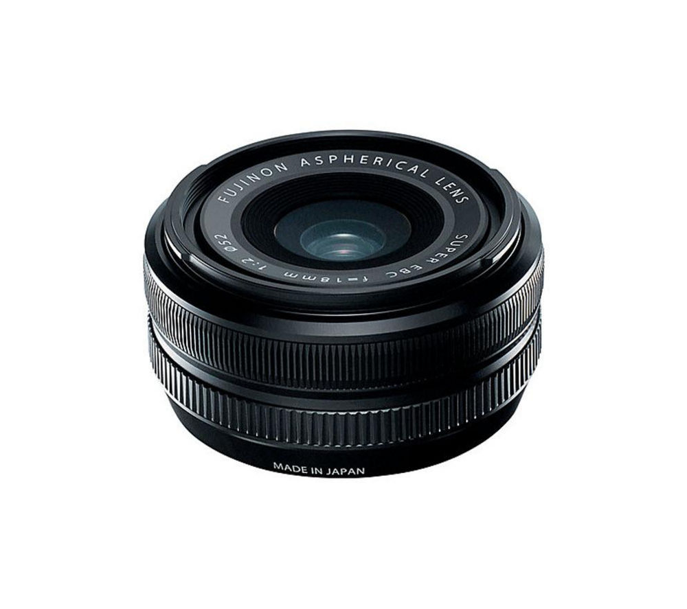 Cheapest price of FujiFilm Fujinon XF 18 mm f/2 R Wide-angle Lens in new is £288.99