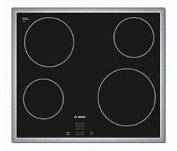 BOSCH PKE645D17 Electric Ceramic Hob – Black