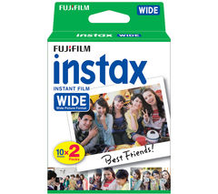 FUJIFILM P10GM13220A Instax Wide Film - Twin Pack