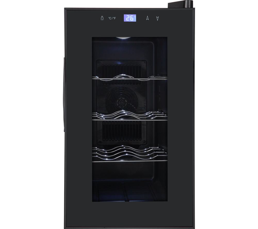Essentials cwc8b15 wine cooler black black wine coolers Wine cooler brands