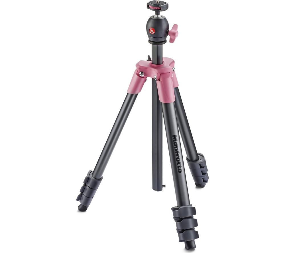 MANFROTTO MKCOMPACTLT-PK Compact Light Tripod - Pink