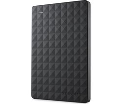 SEAGATE Expansion Portable Hard Drive - 500 GB, Black