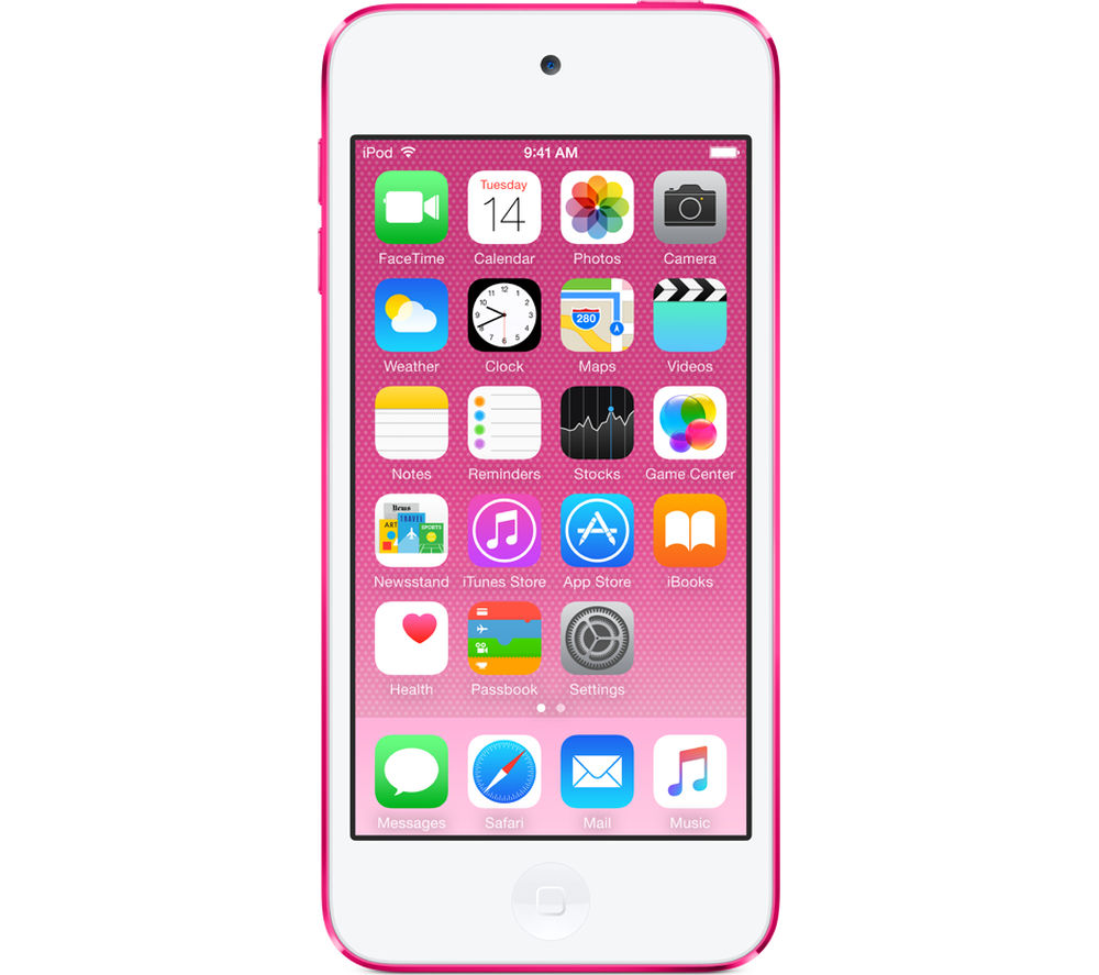 Image of APPLE iPod touch - 32 GB, 6th Generation, Pink, Pink