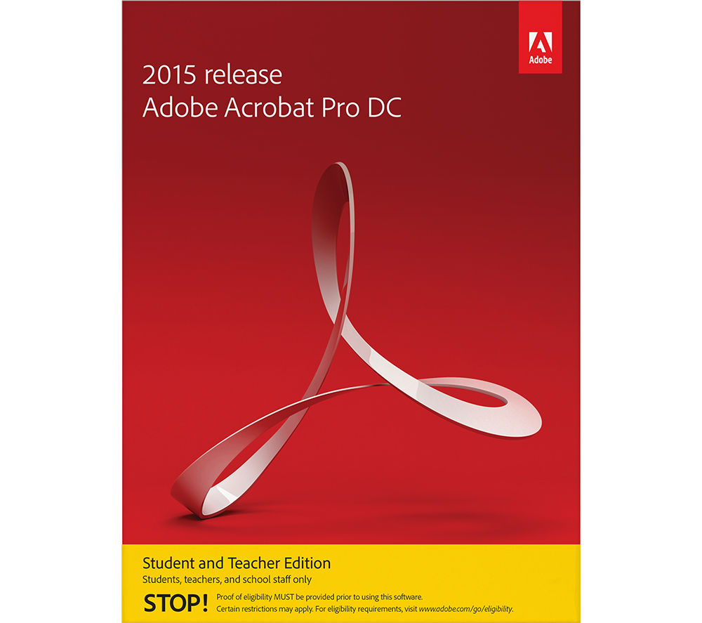 Compare retail prices of Adobe Acrobat Pro DC Student and Teacher Edition to get the best deal online