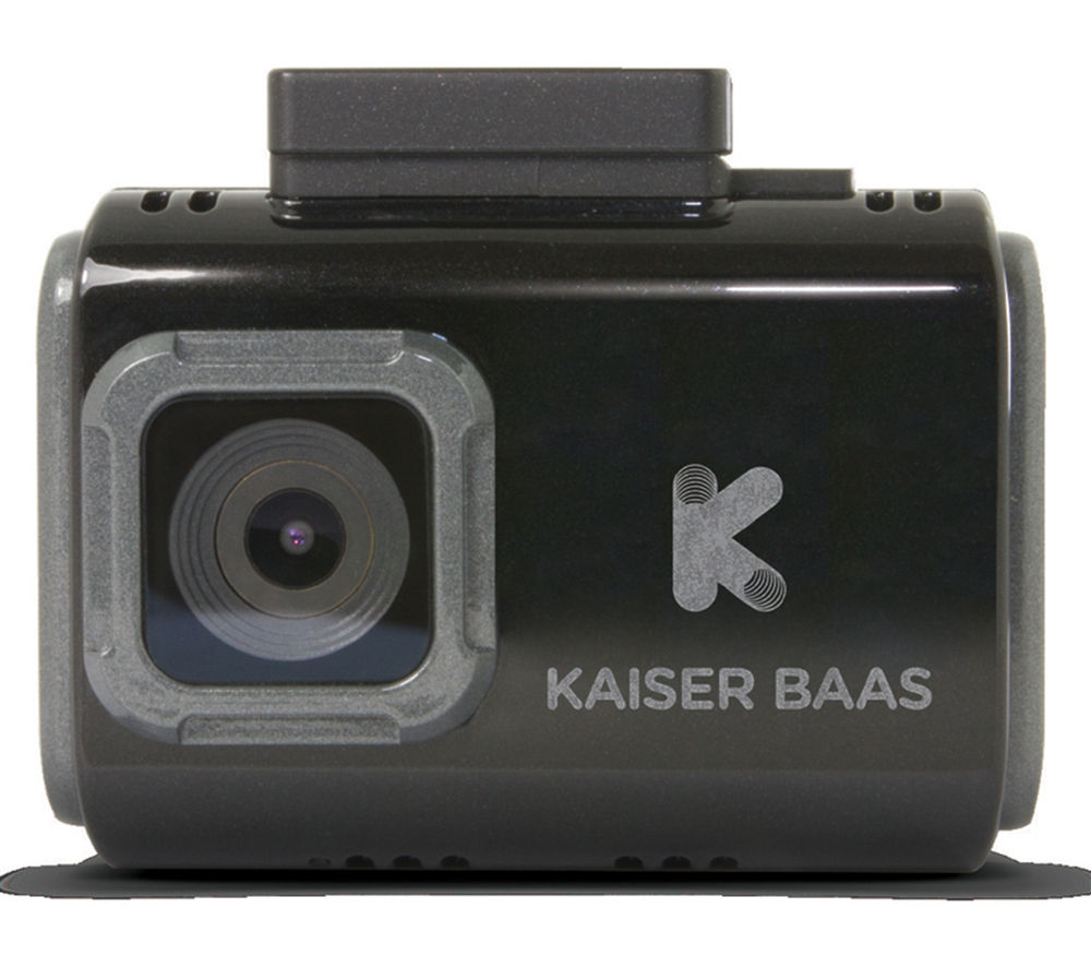 KAISER BAAS R30 Dash Cam - Black + Ultra Performance Class 10 microSD Memory Card - 16 GB