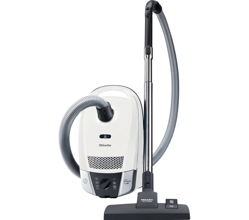 MIELE Compact C2 Allergy EcoLine Cylinder Vacuum Cleaner - Lotus White