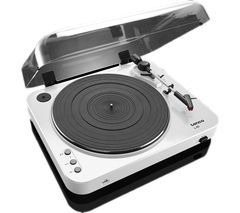 LENCO L-85 Belt Drive Turntable - White