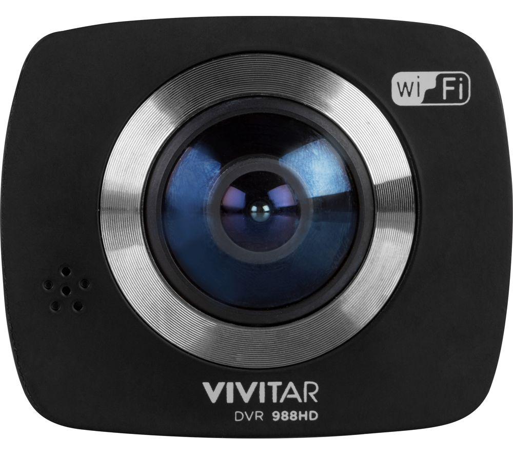 VIVITAR DVR 988HD 4K Ultra HD 360 Action Camcorder - Black