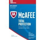 MCAFEE Total Protection 2017 - 10 users for 1 year