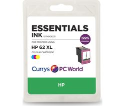 ESSENTIALS 62 XL Tri-Colour HP Ink Cartridge
