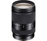 SONY E 18–200 mm f/3.5–6.3 OSS LE Telephoto Zoom Lens