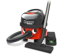 NUMATIC Henry Cordless Vacuum Cleaner - Red