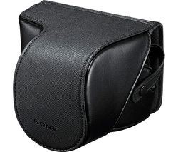SONY LCS-EJC3 Compact System & DSLR Camera Case - Black