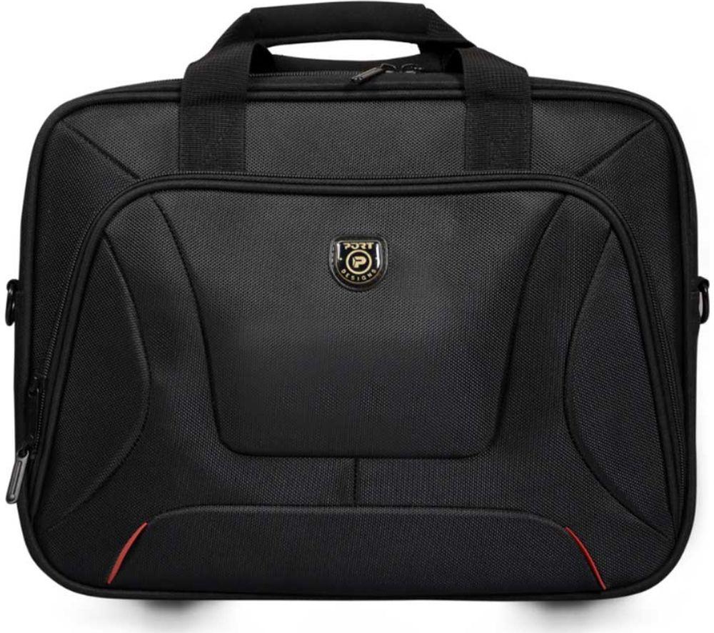 """Image of PORT DESIGNS Courchevel 15.6"""" Laptop Case - Black, Black"""