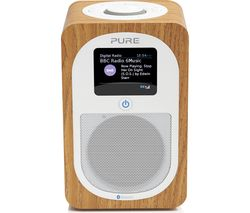 Evoke H3 Portable DAB/FM Bluetooth Radio - Oak