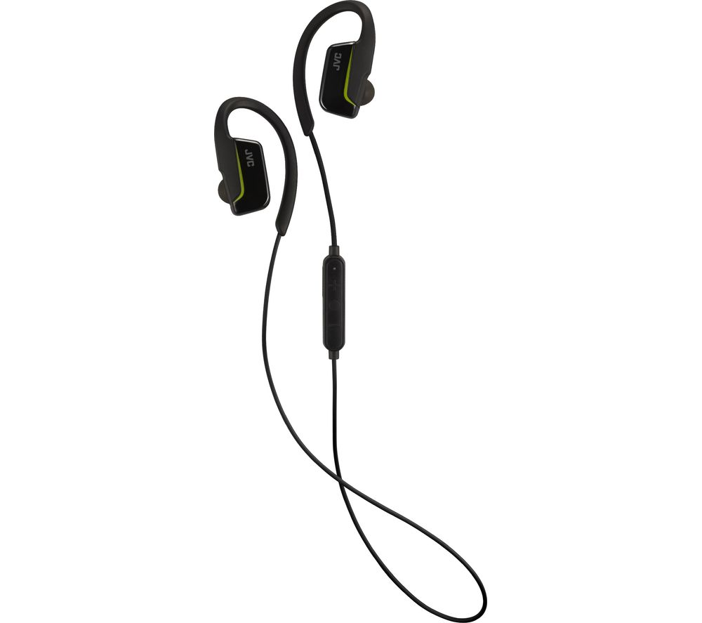 JVC HA-EC30BT-BE Wireless Bluetooth Headphones - Black