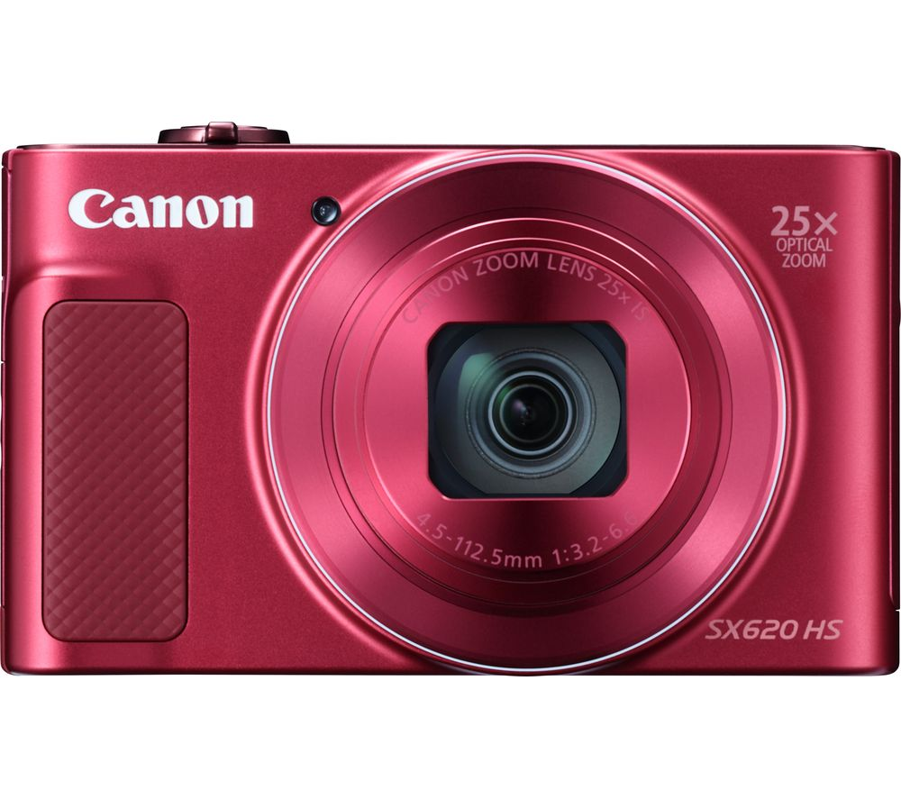 CANON PowerShot SX620 HS Superzoom Compact Camera - Red