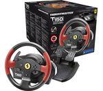THRUSTMASTER TS150 Ferrari Edition PlayStation & PC Gaming Wheel - Black