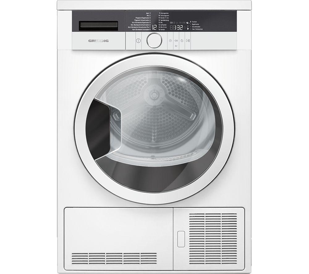 Compare prices for Grundig GTN27110GW 7 kg Condenser Tumble Dryer