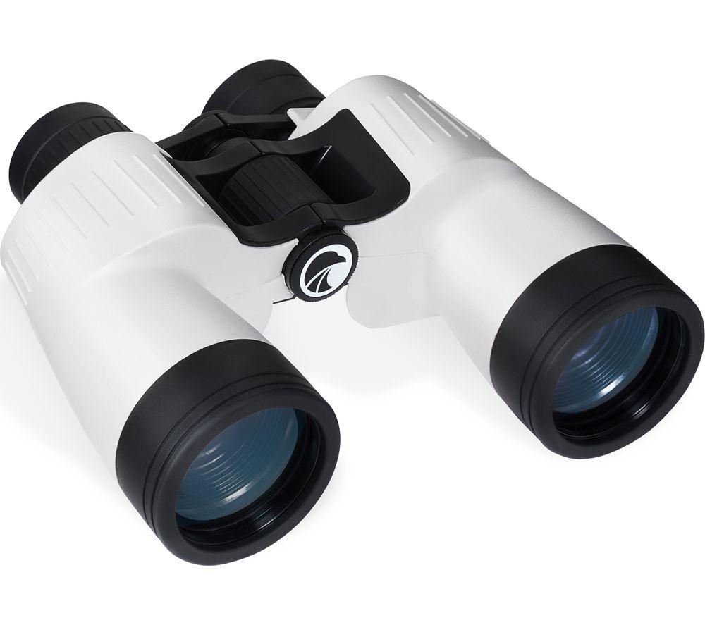PRAKTICA Marine Charter 7 x 50 mm Binoculars - White