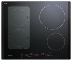 KENWOOD KH600B-IND Electric Induction Hob - Black Best Price, Cheapest Prices