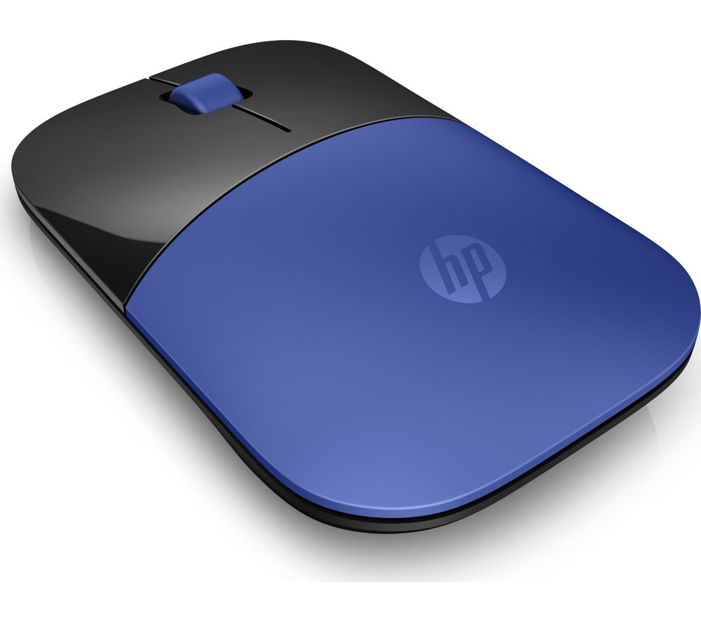 HP Z3700 Wireless Optical Mouse - Blue & Black