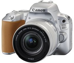 CANON EOS 200D DSLR Camera with EF-S 18-55 mm f/4-5.6 DC Lens - Silver