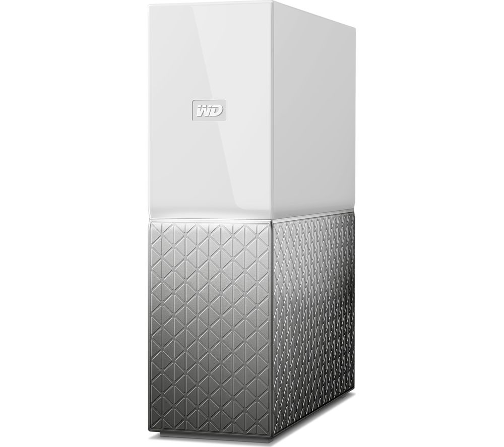 WD My Cloud Home NAS Drive - 3 TB, White