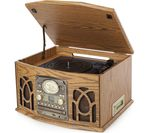ITEK I60019 Classic 5-in-1 Music System - Walnut
