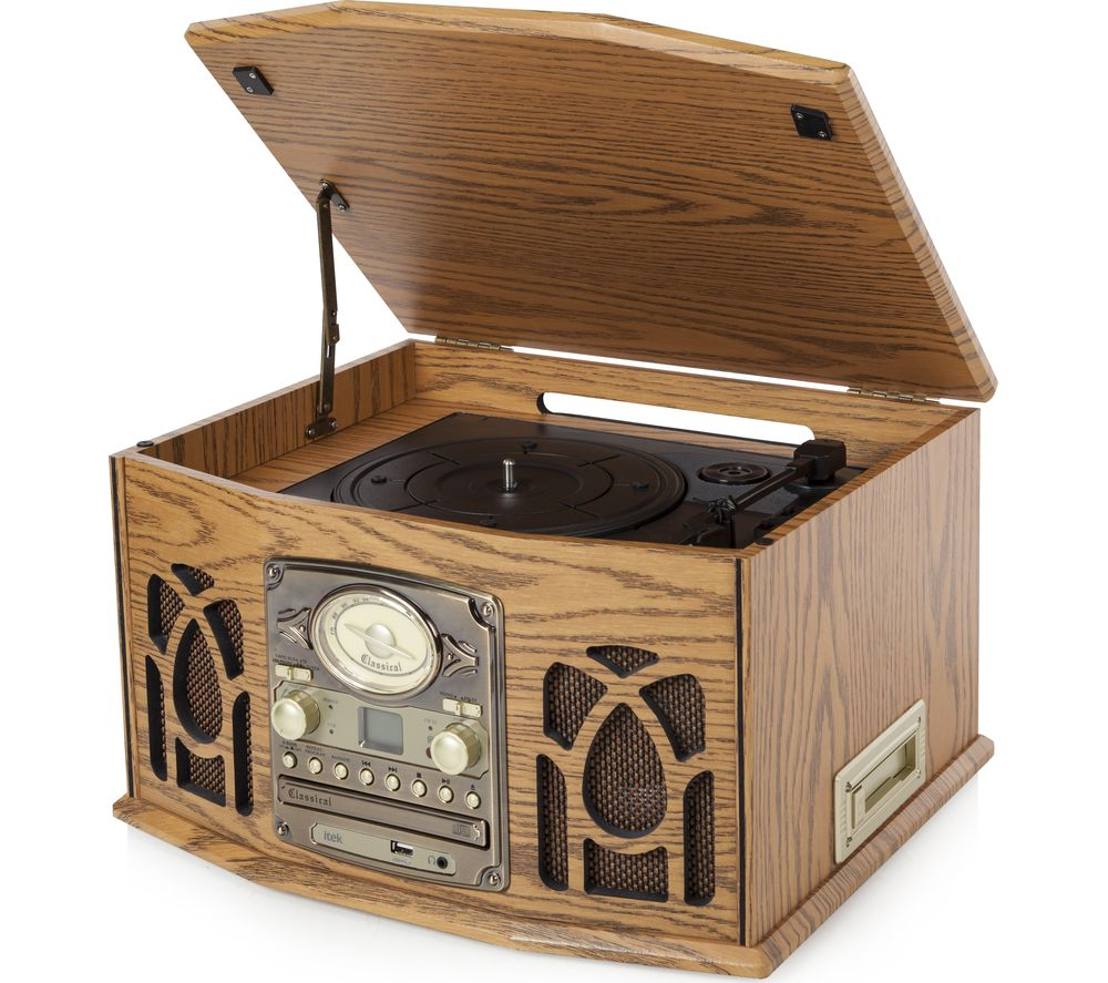 Compare retail prices of Itek I60019 Classic 5-in-1 Music System Walnut to get the best deal online