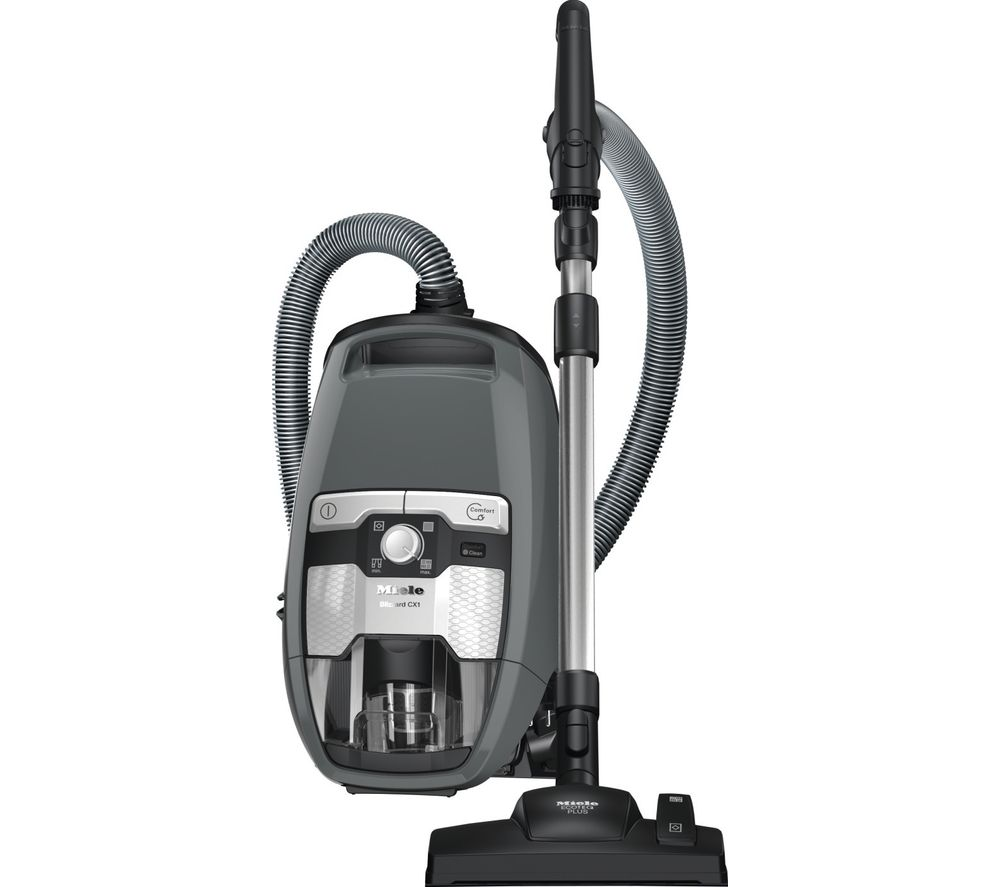buy miele blizzard cx1 excellence cylinder bagless vacuum cleaner grey free delivery currys. Black Bedroom Furniture Sets. Home Design Ideas