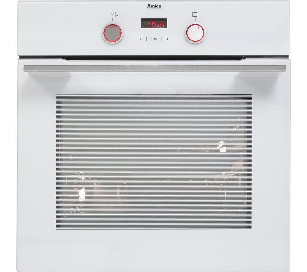 AMICA 1143.3TSW Electric Oven - White, White